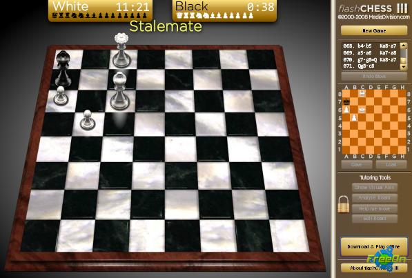 Флеш игра онлайн шахматы